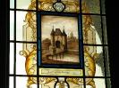 10.  Glas-in-lood raam in het stadhuis