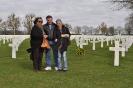 9.  Op het Amerikaanse kerkhof in Margraten
