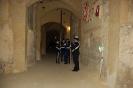 2.    De Color Guard oefent